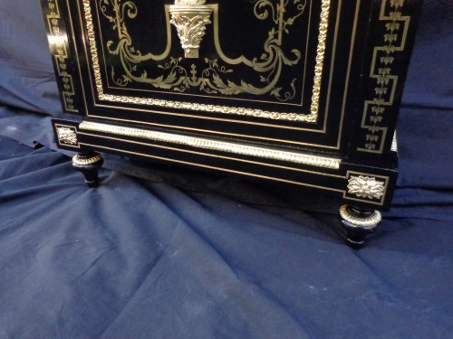Furniture  - Boulle style cabinet attributed to Béfort Jeune