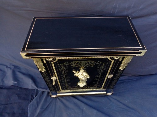 Boulle style cabinet attributed to Béfort Jeune -