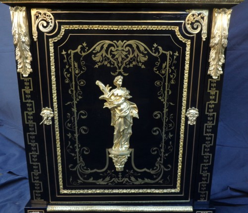 Boulle style cabinet attributed to Béfort Jeune - Napoléon III