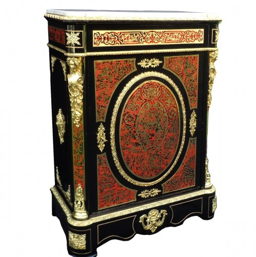 Cabinet in Boulle marquetry 19th
