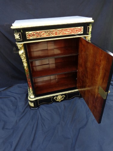 Cabinet in Boulle marquetry 19th - Napoléon III