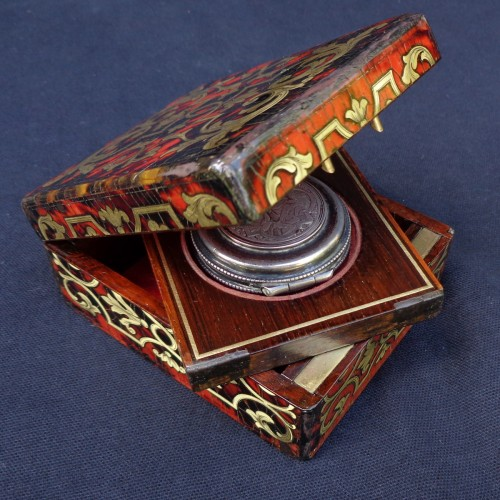 Curiosities  - Light and Host Boxes Boulle style 19th century