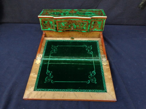 Antiquités - Boulle style Writting Case