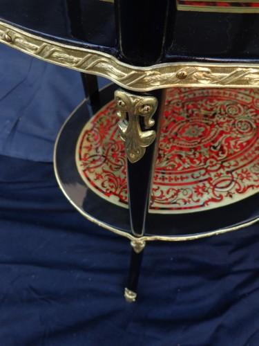 Napoléon III - A 19th century Boulle style Table