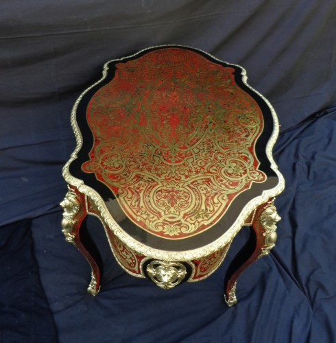 Napoléon III - Boulle style Table 19th century