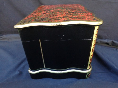 19th century - Tantalus Box in Boulle style marquetry 19th