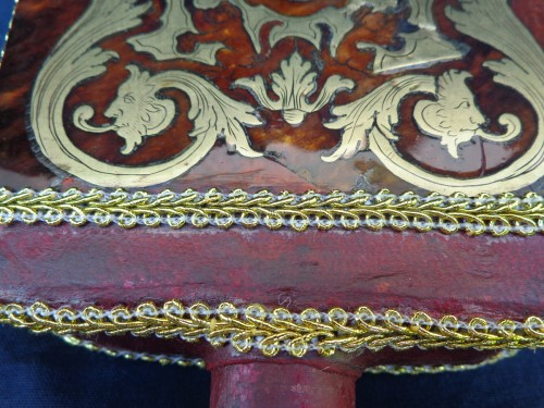 Decorative Objects  - 18th century Boulle style marquetry Bellows