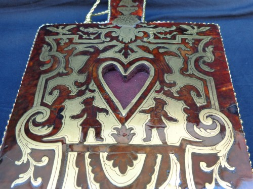 18th century Boulle style marquetry Bellows -
