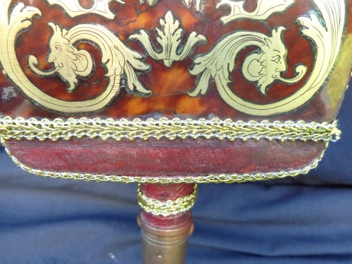 - 18th century Boulle style marquetry Bellows
