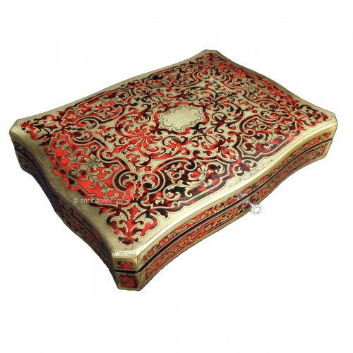 19th Boulle style Game box