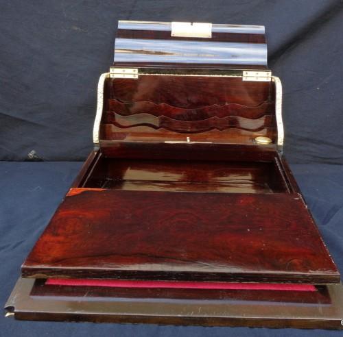 Antiquités - Boulle style writting desk set
