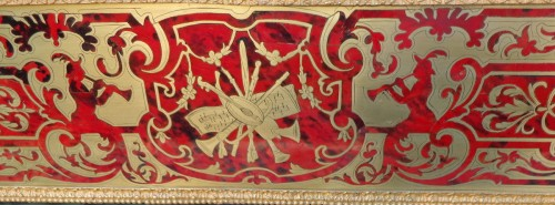 Antiquités - Piano Stamped JUVENOIS in marquetry Boulle 19th Napoléon III period