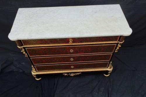 Napoléon III - Boulle style Dresser - commode circa 1850