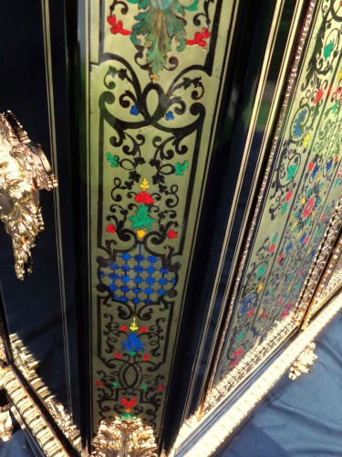 Furniture  - A 19th century Boulle style Cabinet in the manner of Nicols Sageot