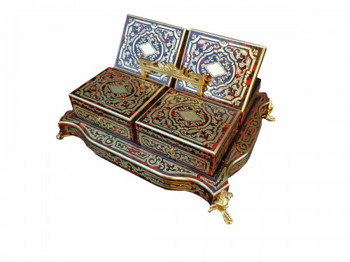 A late 19th century in Boulle style Game box
