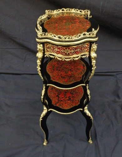Napoléon III - Little dressing Table in Boulle marquetry 19th Napoleon III period