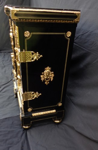 2 doors in Boulle style marquetry - Furniture Style Napoléon III