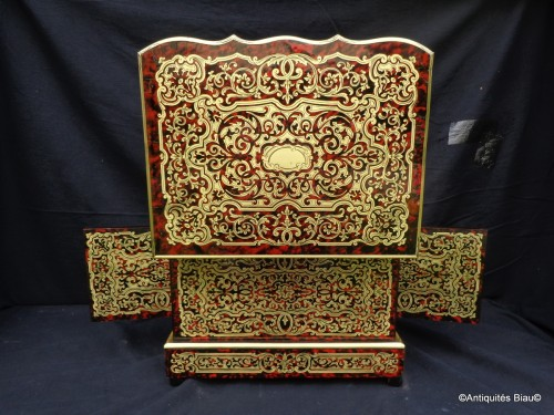 Tantalus Box in Boulle marquetry Napoleon III period 19th -