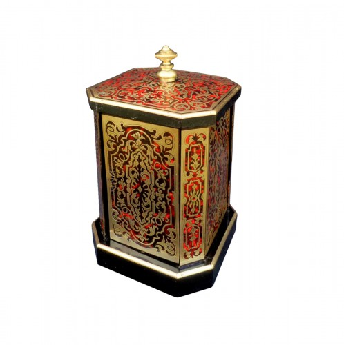 Cigar Carousel in Boulle marquetry 19th