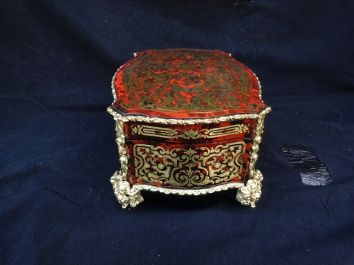 Jewelry Box GRADE in Boulle marquetry Napoleon III period 19th -