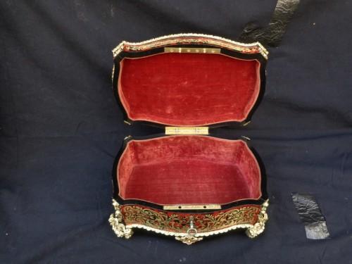 19th century - Jewelry Box GRADE in Boulle marquetry Napoleon III period 19th