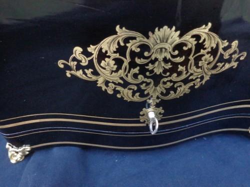 Tantalus Box in Boulle marquetry Napoleon III period  - Napoléon III