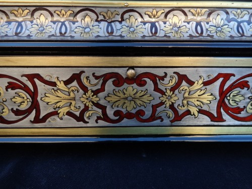 Decorative Objects  - Jewelry Box in Tin Boulle marquetry period 18th
