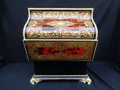 Antiquités - TAHAN à Paris - Tantalus Box in Boulle marquetry Napoleon III period 19th