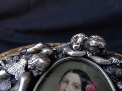19th century Jewelry Box stamped Vervelle-Audot Napoleon III period - Napoléon III