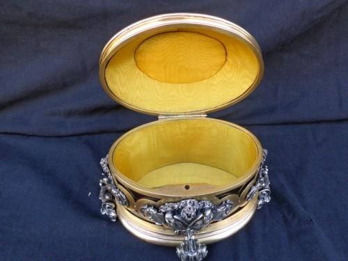 Napoléon III - 19th century Jewelry Box stamped Vervelle-Audot Napoleon III period