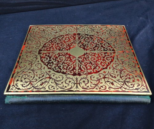 Antiquités - Document Holder in Boulle marquetry 19th