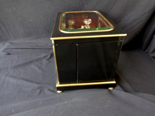 Napoleon III  Tantalus Box stamped ZIMBERG - Decorative Objects Style Napoléon III