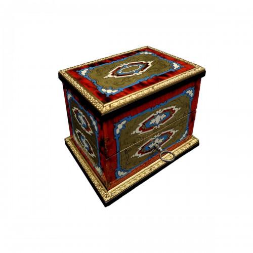 Napoleon III scent box signed TAHAN