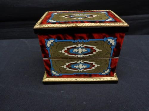 Napoleon III scent box signed TAHAN - Napoléon III