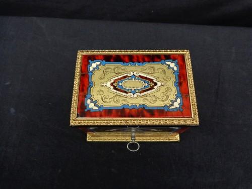 Napoléon III - Napoleon III scent box signed TAHAN