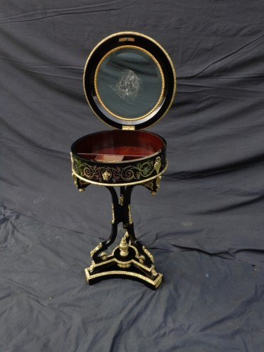 Napoléon III -  Dressing Table in Boulle marquetry 19th Napoleon III period