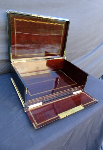 Napoléon III - Cashmere Box in Boulle marquetry Napoleon III by Vervelle