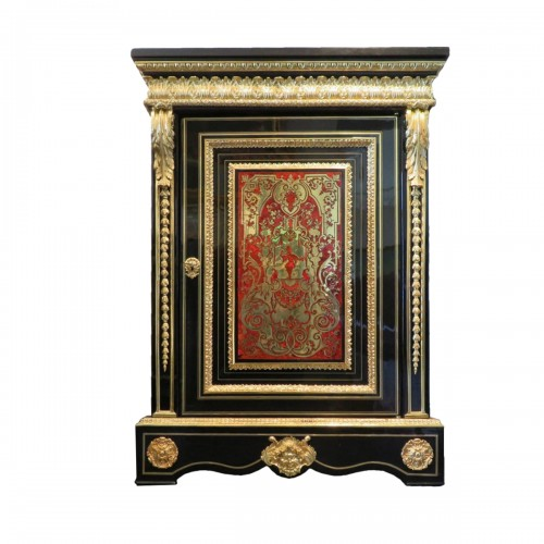 Furniture in Boulle marquetry 19th  Napoleon III  period