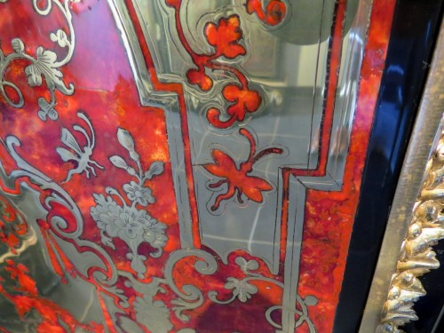 Furniture in Boulle marquetry 19th  Napoleon III  period - Furniture Style Napoléon III