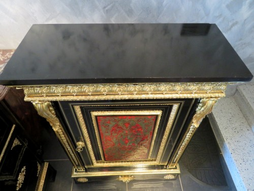 Napoléon III -  Furniture in Boulle marquetry 19th  Napoleon III  period