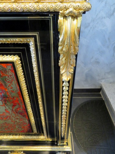 Antiquités -  Furniture in Boulle marquetry 19th  Napoleon III  period
