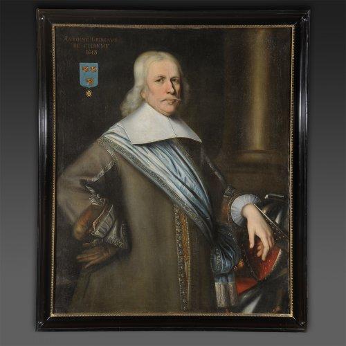 Bartholomeus van der Helst (Arround)- Portrait of Antoine Grimaud de Chaume