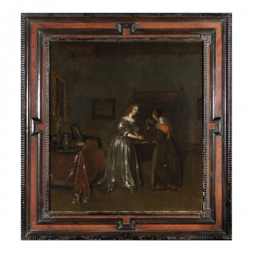 Woman washing her hands - Gerard Ter Borch's workshop
