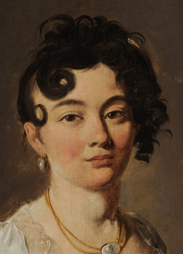 Paintings & Drawings  - Louis-Léopold BOILLY (1761-1845) - Portrait of young women