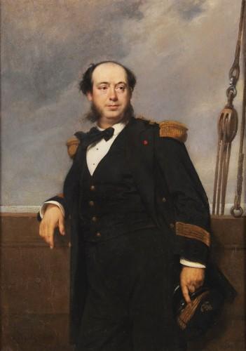 Tony Robert-Fleury (1837-1911) - Portrait of a naval captain