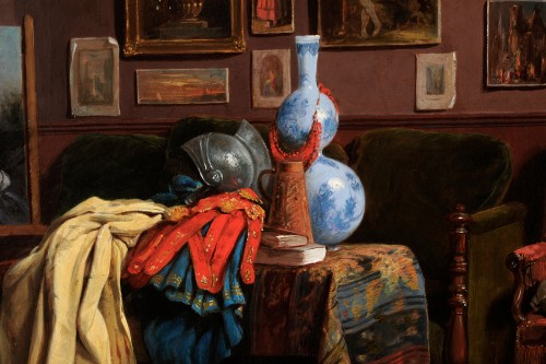 Paintings & Drawings  - John O'Brien Inman (1828-1896) - The artist's studio in Paris