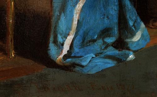 John O'Brien Inman (1828-1896) - The artist's studio in Paris - Napoléon III