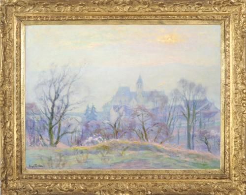 Henri Pailler (1876-1954) - Snow at Triel sur Seine Yvelines