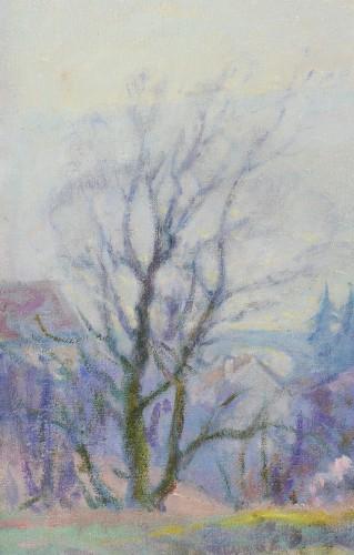 Henri Pailler (1876-1954) - Snow at Triel sur Seine Yvelines -
