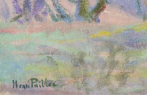 Art Déco - Henri Pailler (1876-1954) - Snow at Triel sur Seine Yvelines